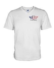 American Flag Gen Z Conservative Shirt V-Neck T-Shirt thumbnail