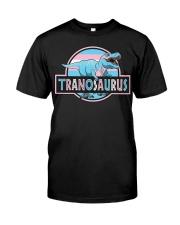LGBT Tranosaurus Shirt Classic T-Shirt front