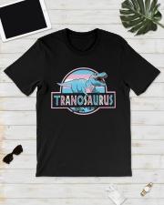 LGBT Tranosaurus Shirt Classic T-Shirt lifestyle-mens-crewneck-front-17