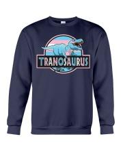 LGBT Tranosaurus Shirt Crewneck Sweatshirt thumbnail