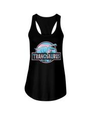 LGBT Tranosaurus Shirt Ladies Flowy Tank thumbnail