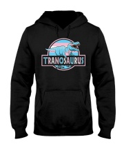LGBT Tranosaurus Shirt Hooded Sweatshirt thumbnail