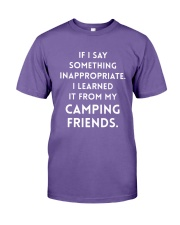 I Say Something Inappropriate I Learned It Shirt Premium Fit Mens Tee thumbnail