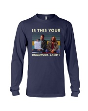 Vintage Is This Your Homework Larry Shirt Long Sleeve Tee thumbnail