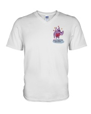 Cat May I Chew On Your Hair Shirt V-Neck T-Shirt thumbnail