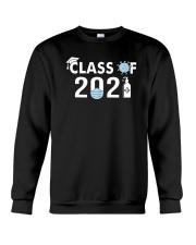 Covid 19 Class Of 2021 Shirt Crewneck Sweatshirt thumbnail