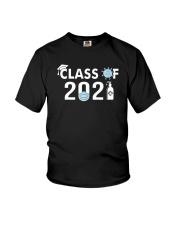 Covid 19 Class Of 2021 Shirt Youth T-Shirt thumbnail