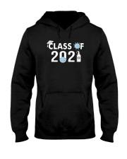 Covid 19 Class Of 2021 Shirt Hooded Sweatshirt thumbnail