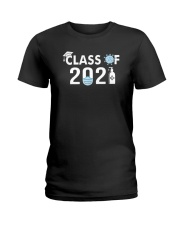 Covid 19 Class Of 2021 Shirt Ladies T-Shirt thumbnail