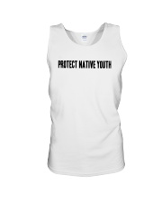 Protect Native Youth Shirt Unisex Tank tile
