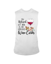 I'm Retired My Job Is To Collect Wine Corks Shirt Sleeveless Tee tile