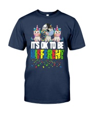 Autism Unicorns It's Ok To Be Different Shirt Classic T-Shirt tile