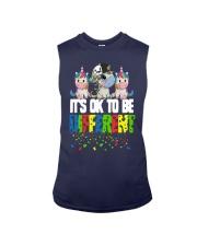 Autism Unicorns It's Ok To Be Different Shirt Sleeveless Tee thumbnail