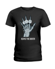 Respect The Shooter Stephen Curry Shirt Ladies T-Shirt thumbnail
