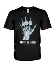 Respect The Shooter Stephen Curry Shirt V-Neck T-Shirt thumbnail