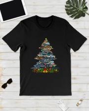 Shark Christmas Tree Shirt Classic T-Shirt lifestyle-mens-crewneck-front-17