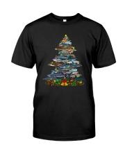Shark Christmas Tree Shirt Premium Fit Mens Tee thumbnail