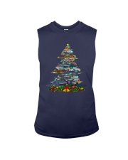Shark Christmas Tree Shirt Sleeveless Tee thumbnail