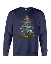 Shark Christmas Tree Shirt Crewneck Sweatshirt thumbnail