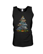 Shark Christmas Tree Shirt Unisex Tank thumbnail