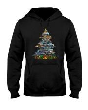 Shark Christmas Tree Shirt Hooded Sweatshirt thumbnail