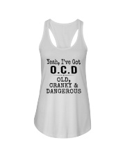 Yeah I've Got Ocd Old Cranky And Dangerous Shirt Ladies Flowy Tank thumbnail