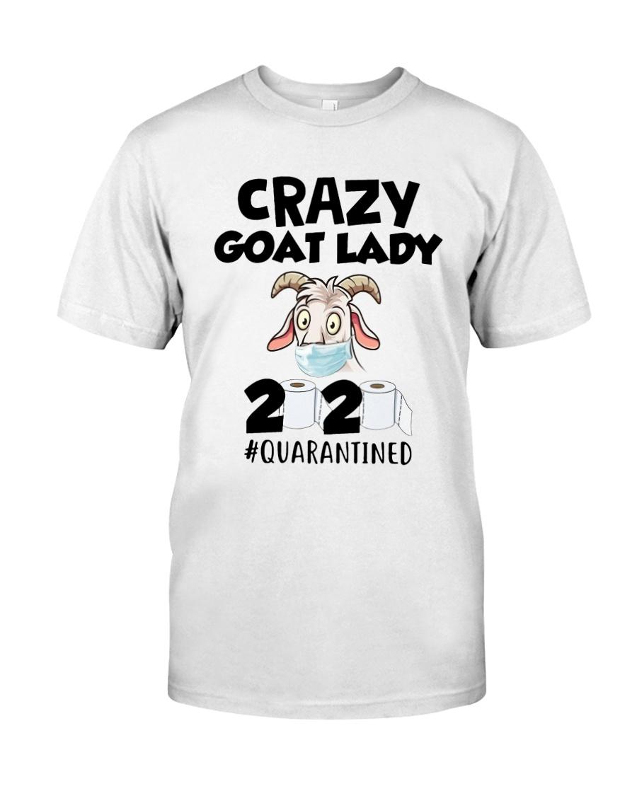 Crazy Goat Lady 2020 Quarantined Shirt Classic T-Shirt