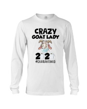 Crazy Goat Lady 2020 Quarantined Shirt Long Sleeve Tee thumbnail