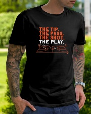 The Tip The Pass The Shot The Play Shirt Classic T-Shirt lifestyle-mens-crewneck-front-7
