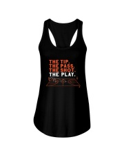 The Tip The Pass The Shot The Play Shirt Ladies Flowy Tank thumbnail