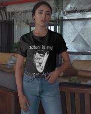 Satan Is My Sugar Daddy Shirt Classic T-Shirt apparel-classic-tshirt-lifestyle-05