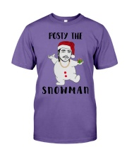 Christmas Post Malone Posty The Snowman Shirt Premium Fit Mens Tee thumbnail