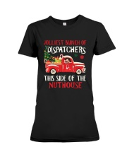 Jolliest Bunch Of Dispatchers This Side Shirt Premium Fit Ladies Tee thumbnail