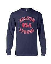 Boston Strong Usa Shirt Long Sleeve Tee thumbnail