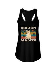 Vintage Shiba Dogeon Master Shirt Ladies Flowy Tank thumbnail