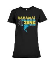Hurricane Dorian Bahamas Strong Shirt Premium Fit Ladies Tee thumbnail