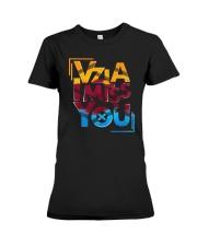 Vzla I Miss You Shirt Premium Fit Ladies Tee thumbnail