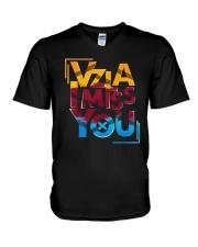 Vzla I Miss You Shirt V-Neck T-Shirt thumbnail