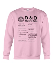 D D Player's Rules Shirt Crewneck Sweatshirt thumbnail