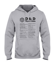 D D Player's Rules Shirt Hooded Sweatshirt thumbnail