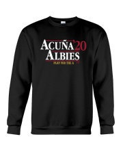 Acuña Albies 20 Play For The A Shirt Crewneck Sweatshirt thumbnail