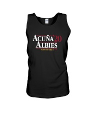 Acuña Albies 20 Play For The A Shirt Unisex Tank thumbnail