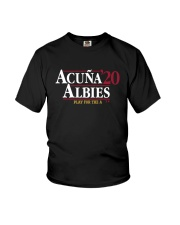 Acuña Albies 20 Play For The A Shirt Youth T-Shirt thumbnail