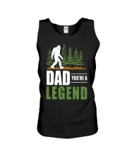 Big Foot Dad You're A Legend Shirt Unisex Tank thumbnail