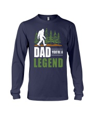 Big Foot Dad You're A Legend Shirt Long Sleeve Tee thumbnail