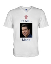 Mario Lopez It's Me Mario Shirt V-Neck T-Shirt thumbnail