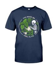 Bone You Make Me Feel Alive Shirt Classic T-Shirt tile