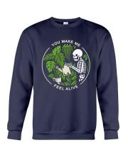 Bone You Make Me Feel Alive Shirt Crewneck Sweatshirt thumbnail