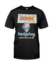 Mark Hoppus Sonic Hedgehog Gonna Catch 'em Shirt Classic T-Shirt front