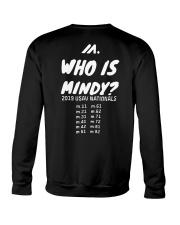Who is Mindy Shirt Crewneck Sweatshirt thumbnail
